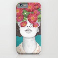 The optimist // rose tinted glasses Slim Case iPhone 6