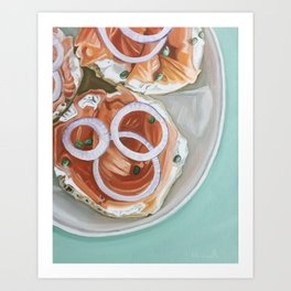 Breakfast Delight Art Print