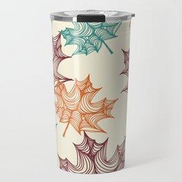 Maple Leaves Travel Mug