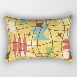 Mid Century Modern Abstract Pattern 414 Rectangular Pillow
