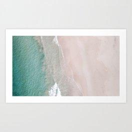 Wavy Textures 1 Art Print