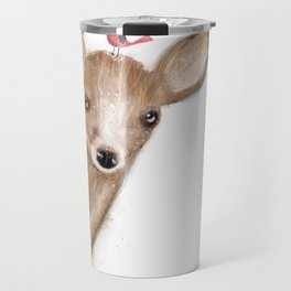 peek a boo Travel Mug