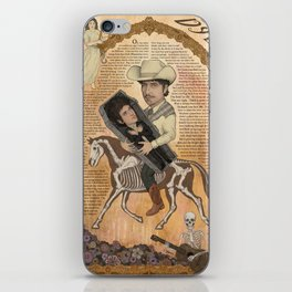 Bob Dylan - Find Out Something Only Dead Men Know iPhone Skin
