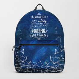 Libraries Backpack