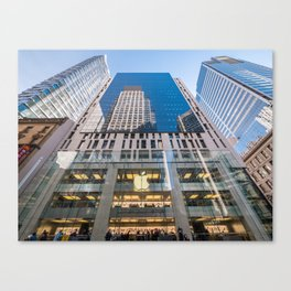 Apple Shop, George Street, Sydney Canvas Print