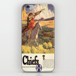 Vintage poster - The Chiefs iPhone Skin