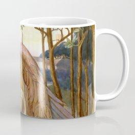 """John Melhuish Strudwick """"An Angel from A Golden Thread"""" Coffee Mug"""