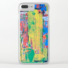 Summer Samba Clear iPhone Case