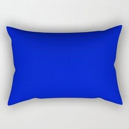 Ultra Marine Blue Rectangular Pillow