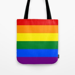 LGBT Pride Flag (LGBTQ Pride, Gay Pride) Tote Bag