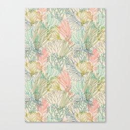 Flowing sea Canvas Print