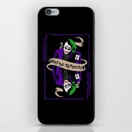 The Joker Heath iPhone Skin