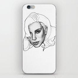 Kim Kardashian iPhone Skin