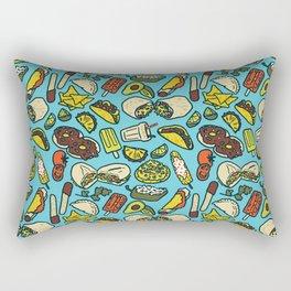 My Favorite Foods Rectangular Pillow