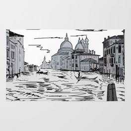 Venice . city on the water ( https://society6.com/vickonskey/s?q=popular+prints ) Rug