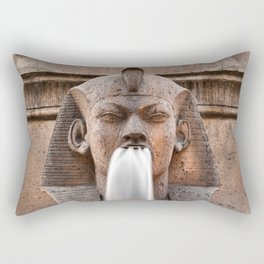 Sphinx Fountain Rectangular Pillow