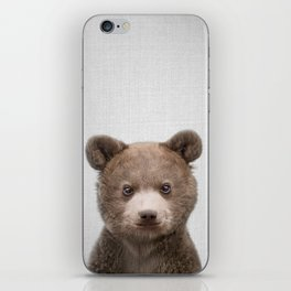 Baby Bear - Colorful iPhone Skin