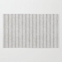 Mud cloth - Grey Arrowheads Rug