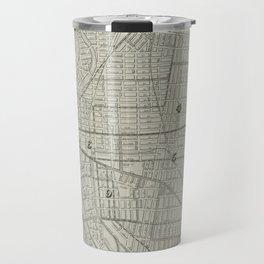 Vintage Map of Paterson NJ (1920) Travel Mug