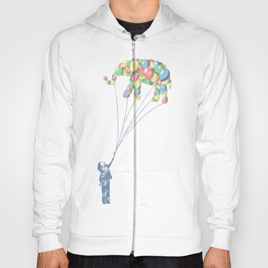 Elephants Can Fly Hoody