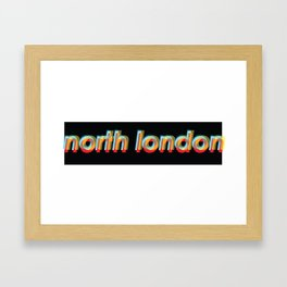 north London  Framed Art Print
