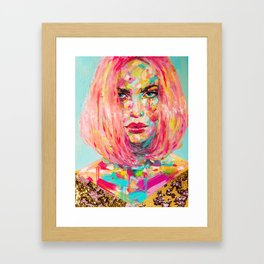 Christy Framed Art Print