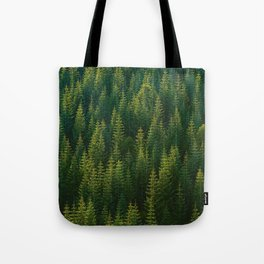 The Green Forest (Color) Tote Bag