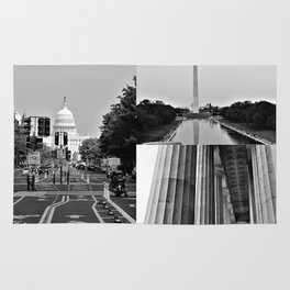DC Collage Rug