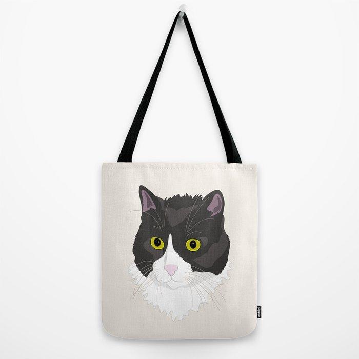 Casual Cat Tote Bag