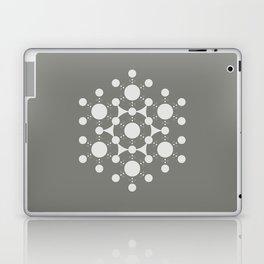 flower of life, alien crop circle, sacred geometry Laptop & iPad Skin
