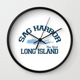 Sag Harbor - Long Island. Wall Clock
