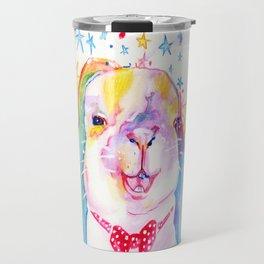 Rainbow Bunny Travel Mug