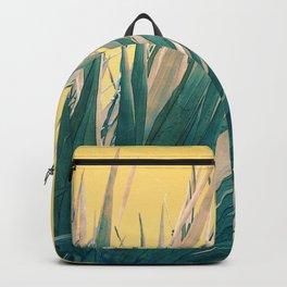 Emerald succulent Backpack
