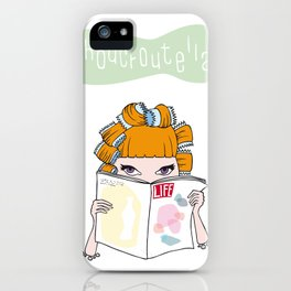 Choucroutella at the hairdresser's iPhone Case
