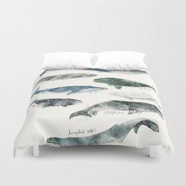 Whales Bettbezug