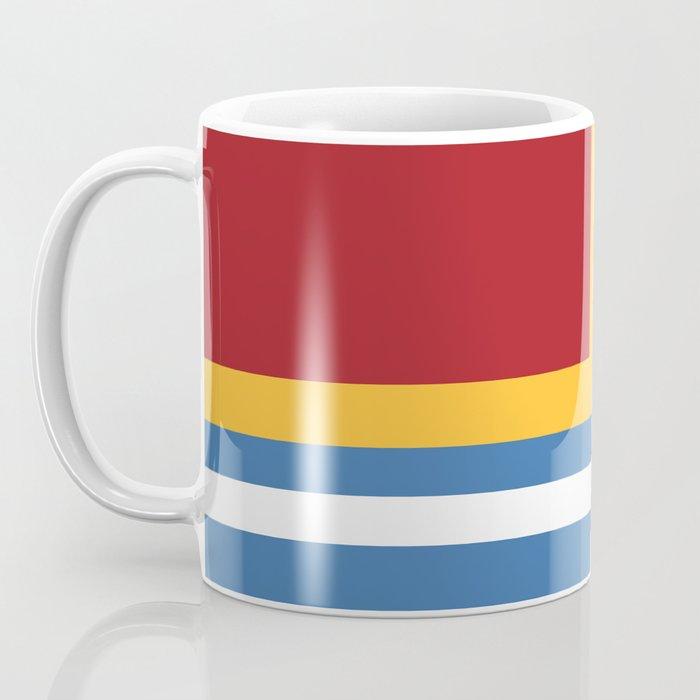 vintage primary colors Coffee Mug