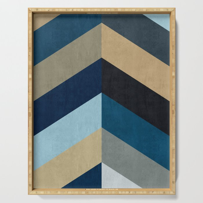 Triangular composition XX Serving Tray