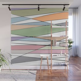 Intersecting Lines Wall Mural