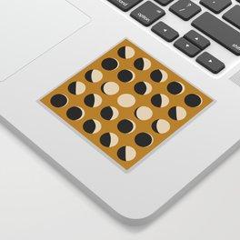 Moon Phased in Honey Sticker