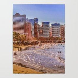Fortaleza Beach, Brazil Poster