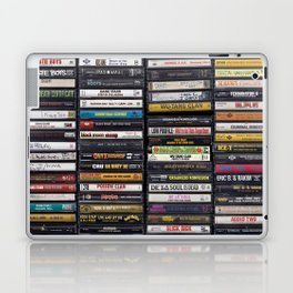 Old 80's & 90's Hip Hop Tapes Laptop & iPad Skin
