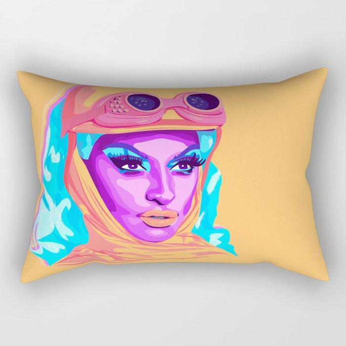 QUEEN MIZ CRACKER Rectangular Pillow