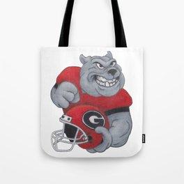 Go Dawgs Tote Bag