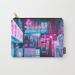 SEOUL NEON LIGHTS Carry-All Pouch