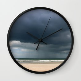 A Peaceful Day At The Seaside Wall Clock