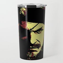 Big Boss (naked snake from metal gear solid) Travel Mug