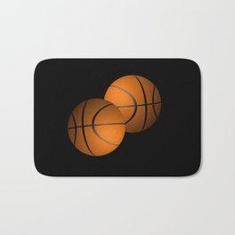 Basketball Sports Design Bath Mat