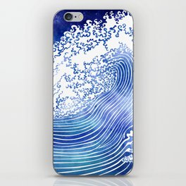 Pacific Waves II iPhone Skin