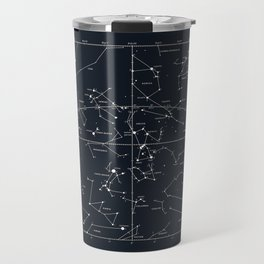 star chart Travel Mug