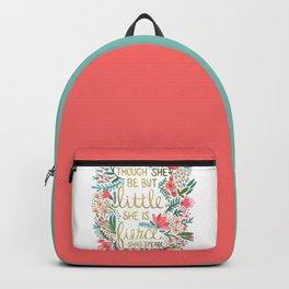 Little & Fierce Backpack